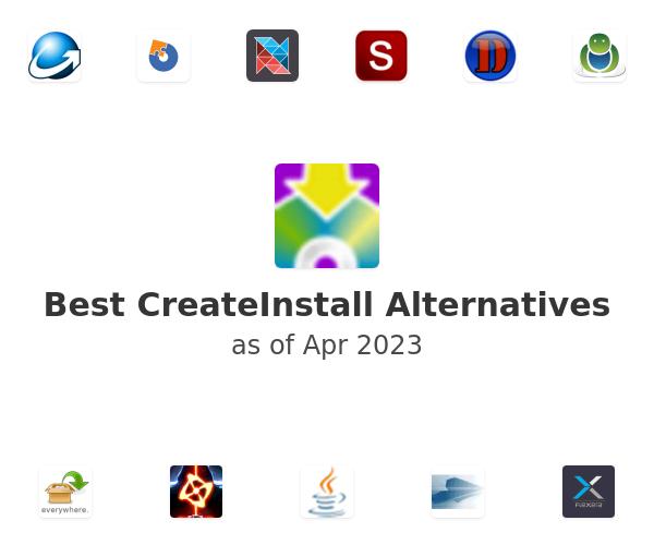 Best CreateInstall Alternatives