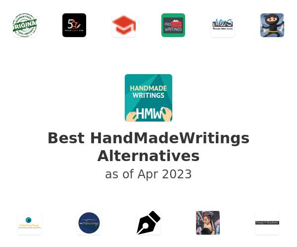 Best HandMadeWritings Alternatives