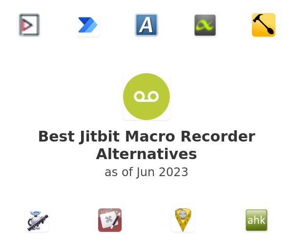 Best Jitbit Macro Recorder Alternatives