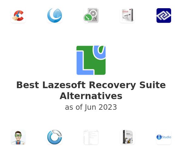 Best Lazesoft Recovery Suite Alternatives