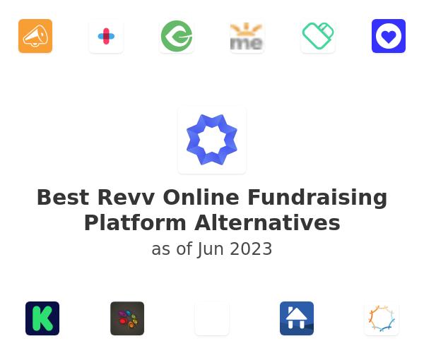 Best Revv Online Fundraising Platform Alternatives