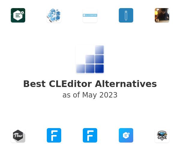 Best CLEditor Alternatives