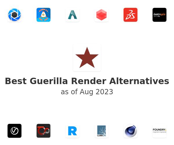 Best Guerilla Render Alternatives
