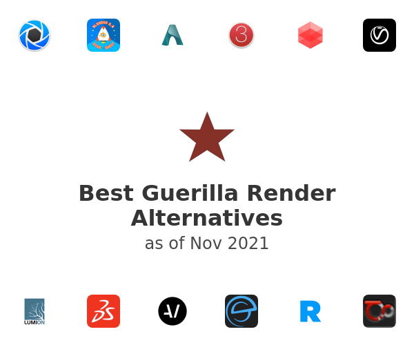 Best Guerilla Render Alternatives