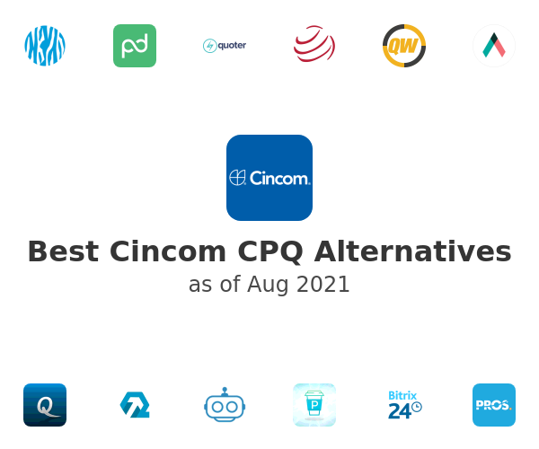 Best Cincom CPQ Alternatives
