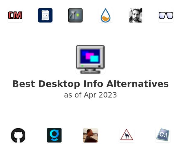 Best Desktop Info Alternatives