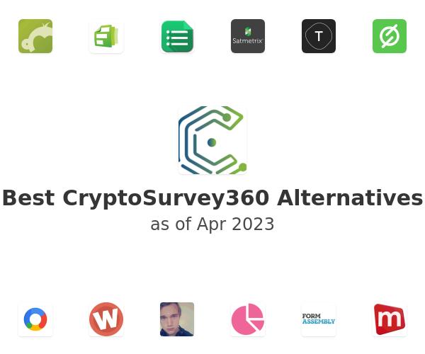 Best CryptoSurvey360 Alternatives