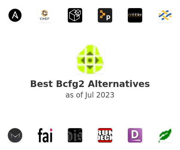 Best Bcfg2 Alternatives