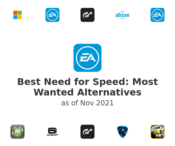 Best Need for Speed: Most Wanted Alternatives