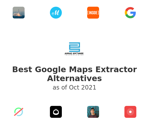 Best Google Maps Extractor Alternatives