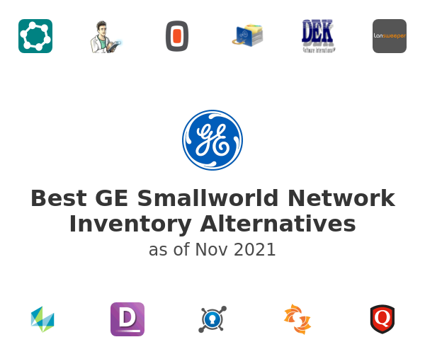 Best GE Smallworld Network Inventory Alternatives