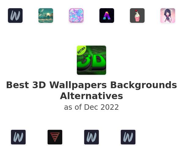 Best 3D Wallpapers Backgrounds Alternatives
