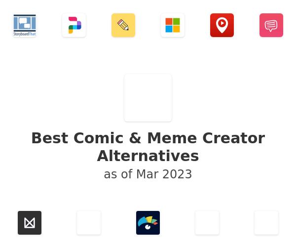 Best Comic & Meme Creator Alternatives