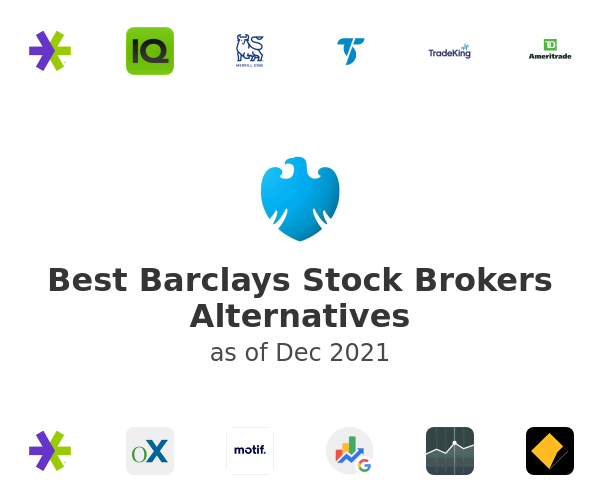 Best Barclays Stock Brokers Alternatives