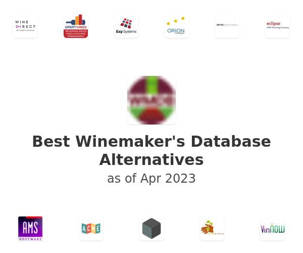 Best Winemaker's Database Alternatives