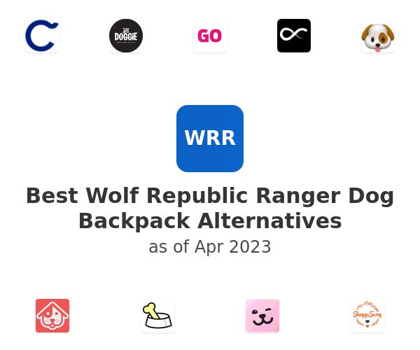 Best Wolf Republic Ranger Dog Backpack Alternatives