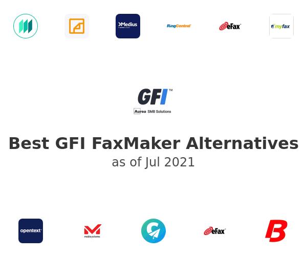 Best GFI FaxMaker Alternatives
