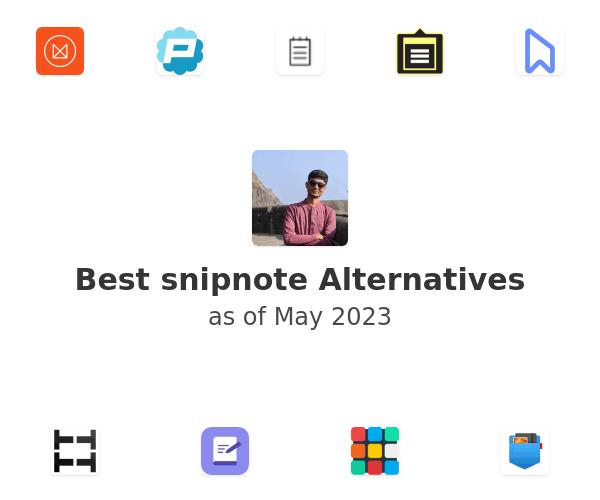 Best snipnote Alternatives