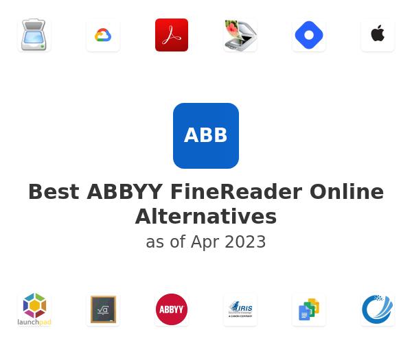 Best ABBYY FineReader Online Alternatives