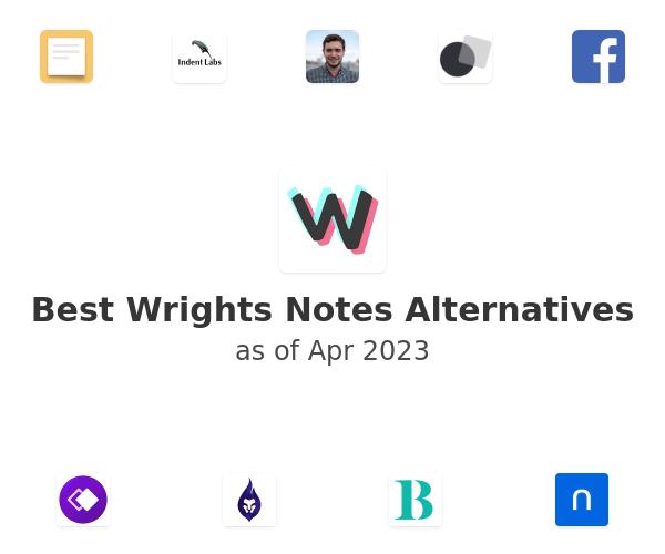 Best Wrights Notes Alternatives