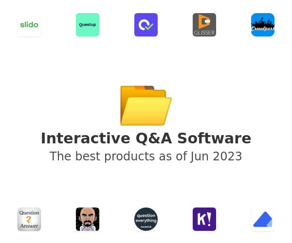 Interactive Q&A Software