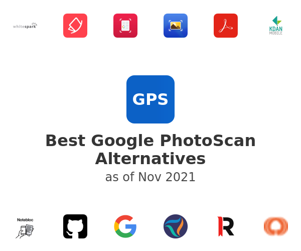 Best Google PhotoScan Alternatives