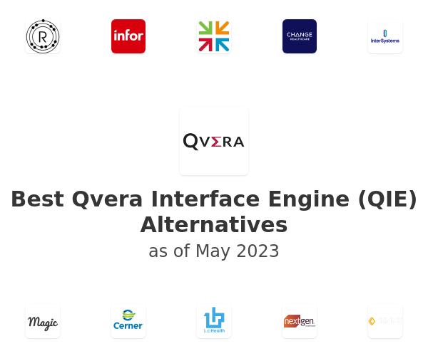 Best Qvera Interface Engine (QIE) Alternatives