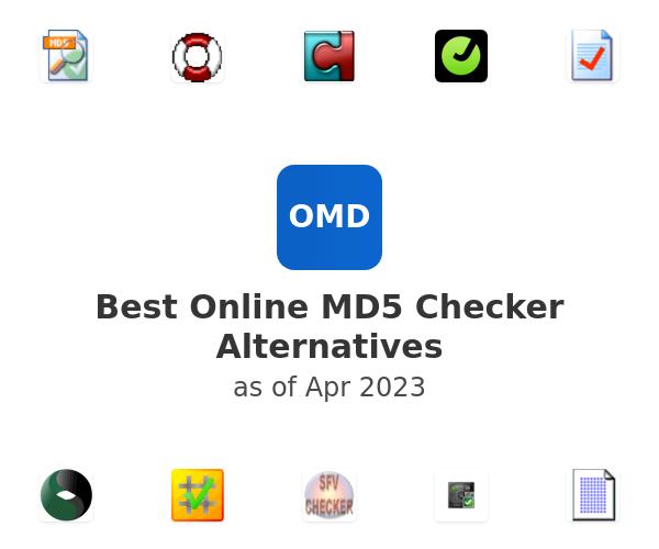 Best Online MD5 Checker Alternatives
