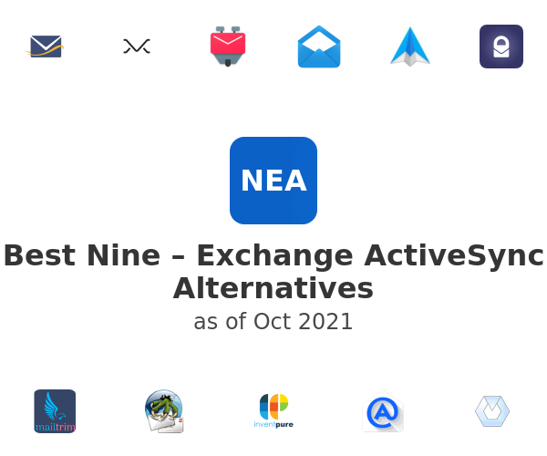 Best Nine – Exchange ActiveSync Alternatives
