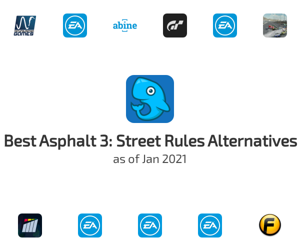 Best Asphalt 3: Street Rules Alternatives