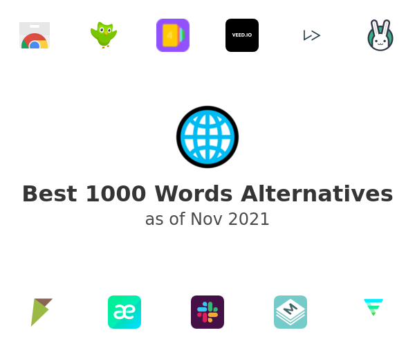 Best 1000 Words Alternatives