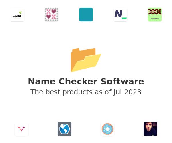 Name Checker Software