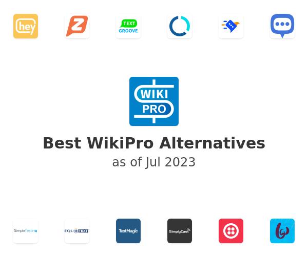 Best WikiPro Alternatives