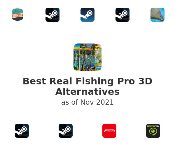 Best Real Fishing Pro 3D Alternatives
