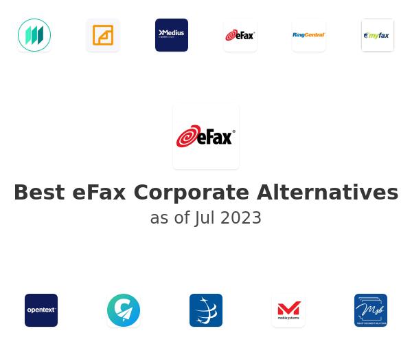 Best eFax Corporate Alternatives