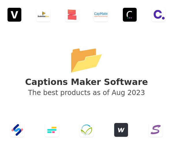 Captions Maker Software