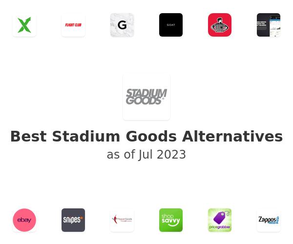Best Stadium Goods Alternatives