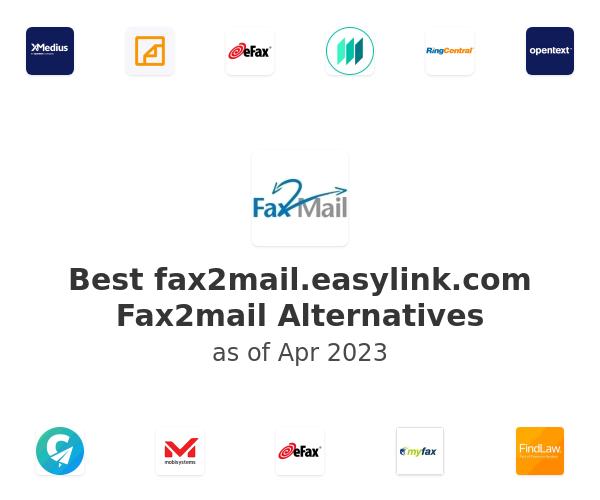 Best Fax2mail Alternatives