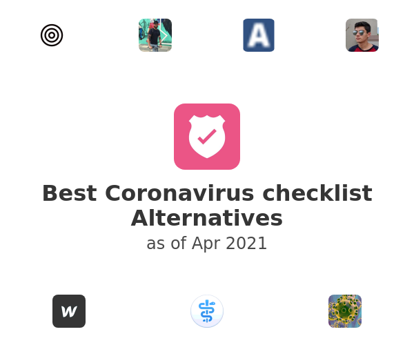 Best Coronavirus checklist Alternatives
