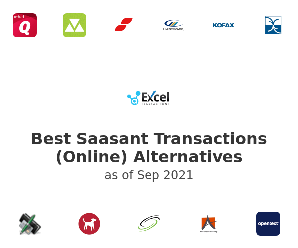 Best Saasant Transactions (Online) Alternatives