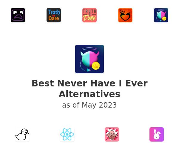 Best Never Have I Ever Alternatives
