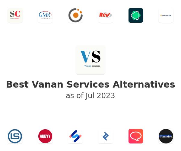 Best Vanan Services Alternatives