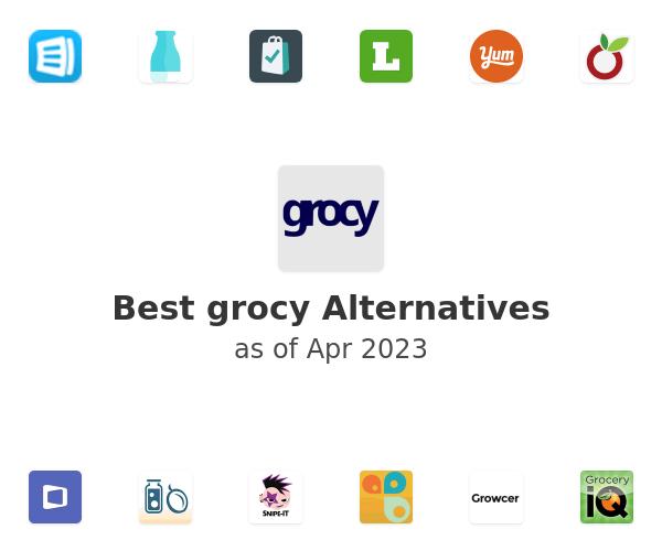 Best grocy Alternatives