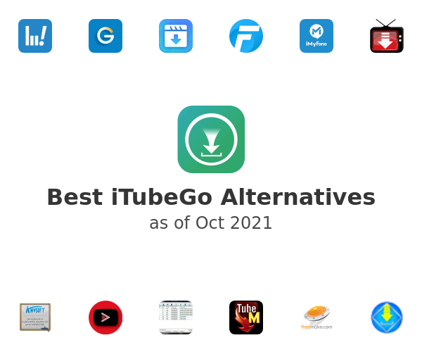Best iTubeGo Alternatives