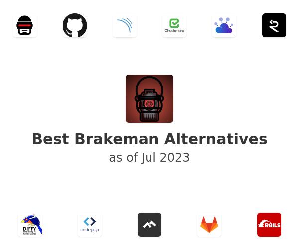 Best Brakeman Alternatives