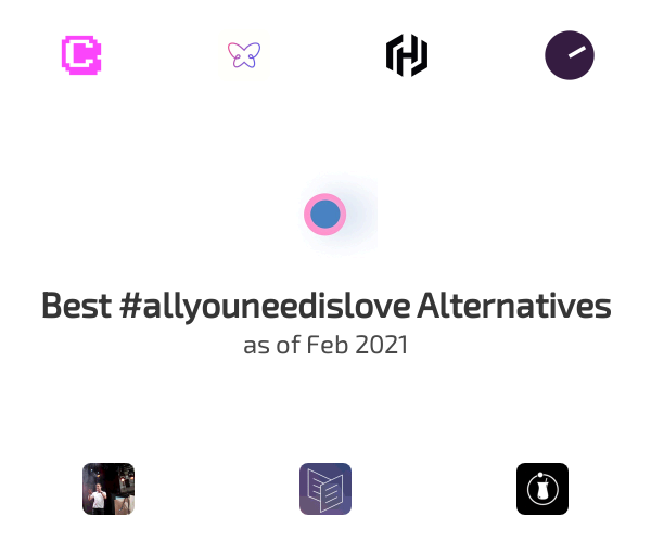 Best #allyouneedislove Alternatives
