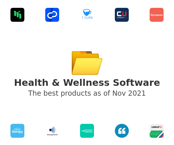 Health & Wellness Software