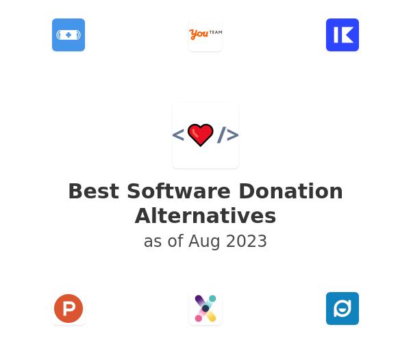 Best Software Donation Alternatives