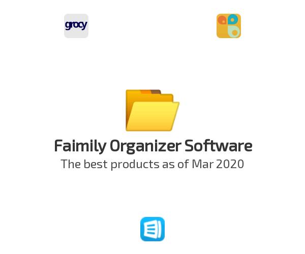 Faimily Organizer Software