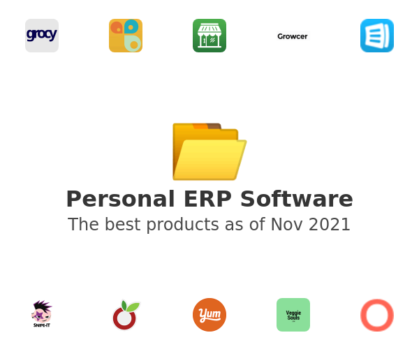 Personal ERP Software